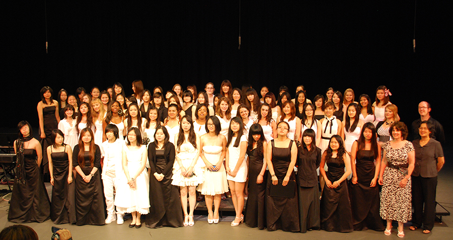 The Grier School Girls Choir - 2009