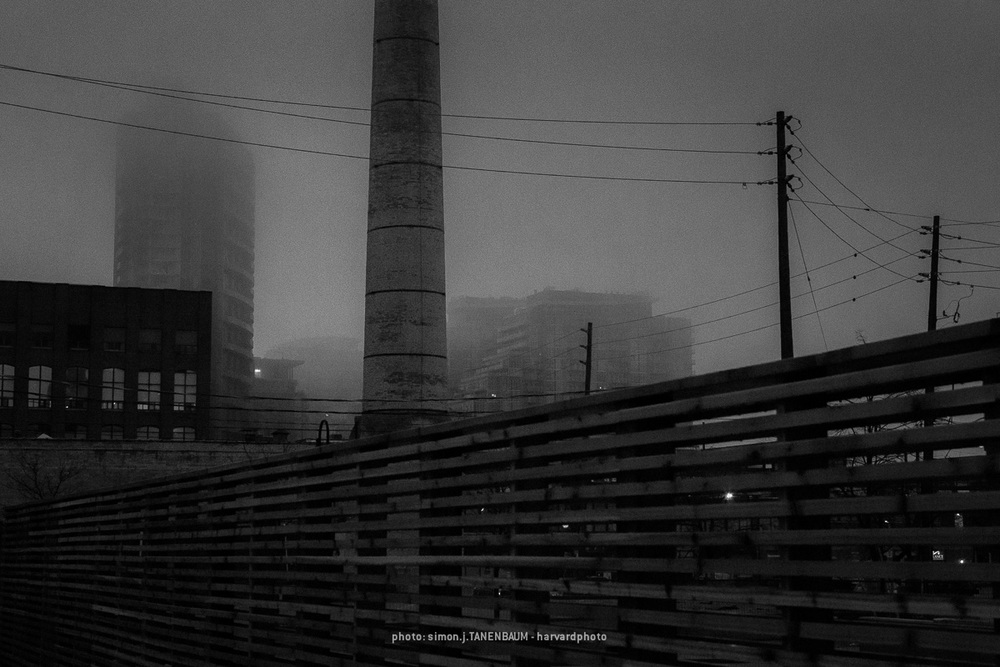 The spirits of the old Liberty Village can be sensed when there a mist on the land.