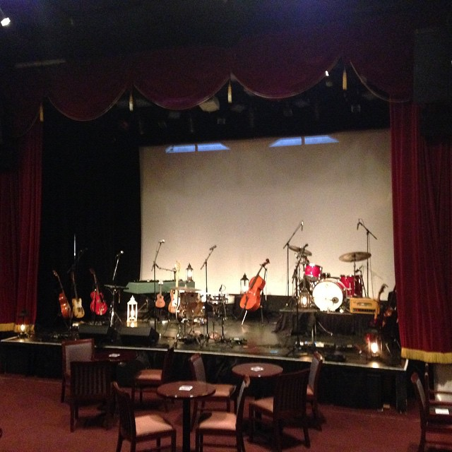 Honored to play the great Sellersville Theater in PA! #Jars20