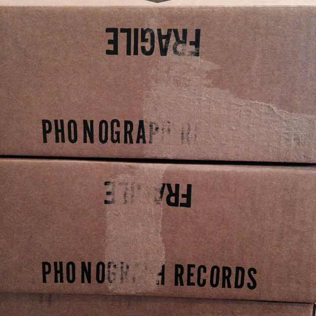 We are signing the Fragile Phonograph Records for you this week!  #jars20