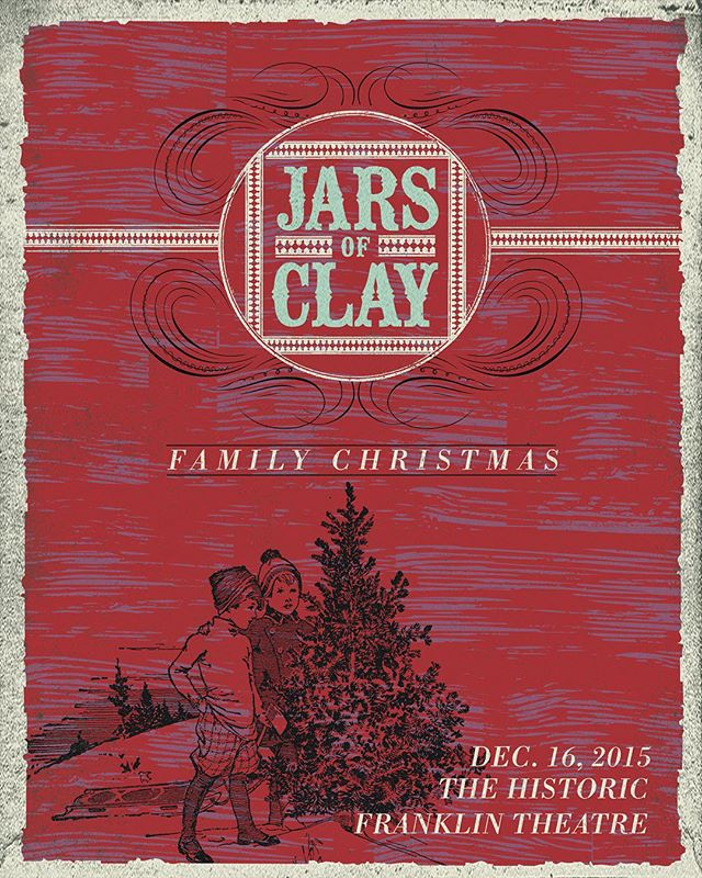 Tickets are going fast to our first Annual Family Christmas! Do you have yours yet? Link in bio #jarsofclay #christmas