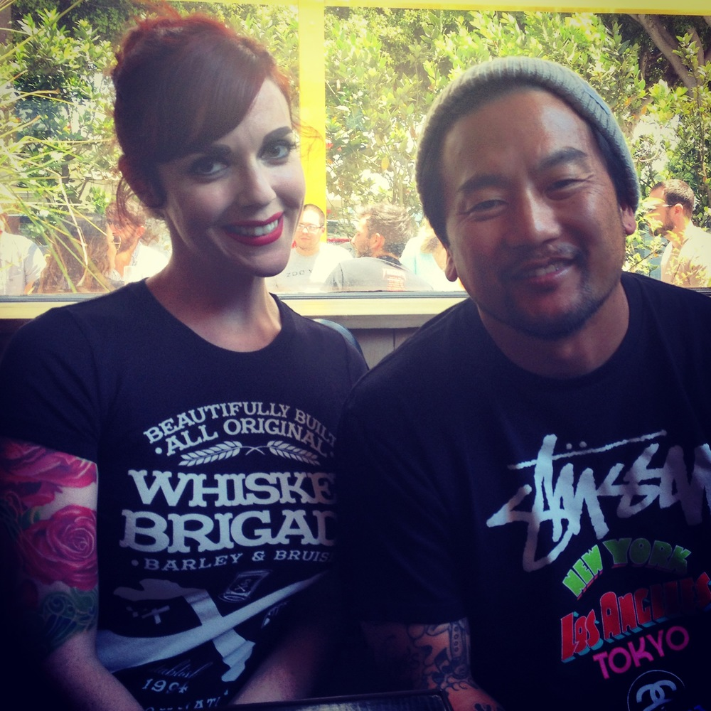 Roy Choi is both extremely friendly and an excellent sport!