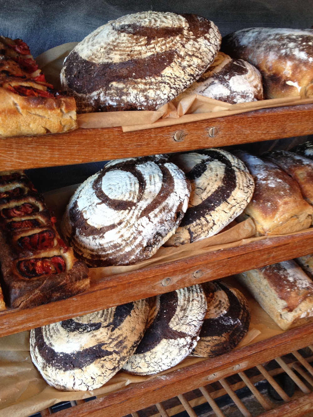 Red Bread's deservedly famous breads.