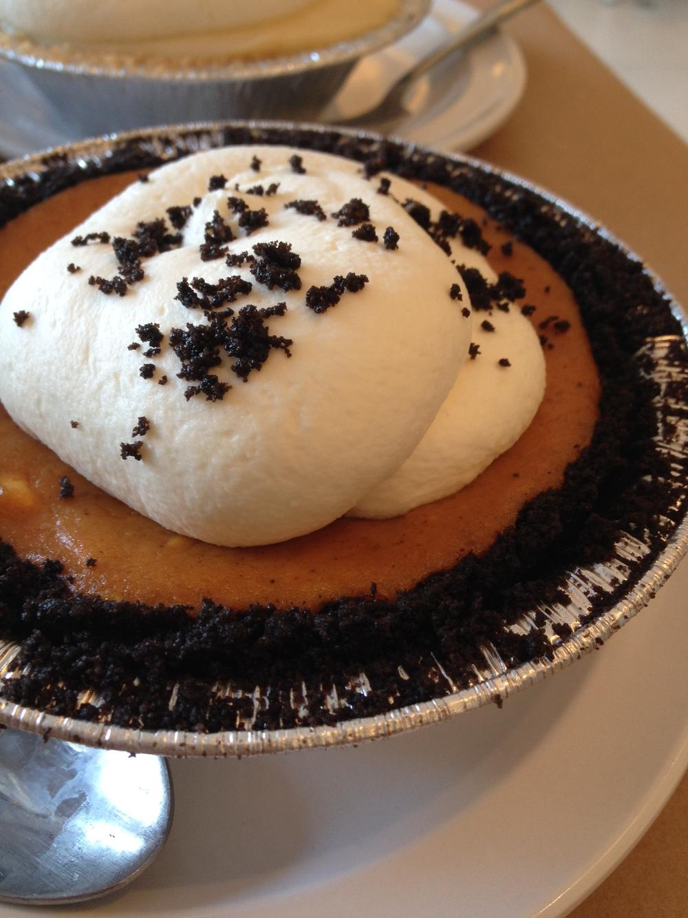 Chipotle Pumpkin Pie