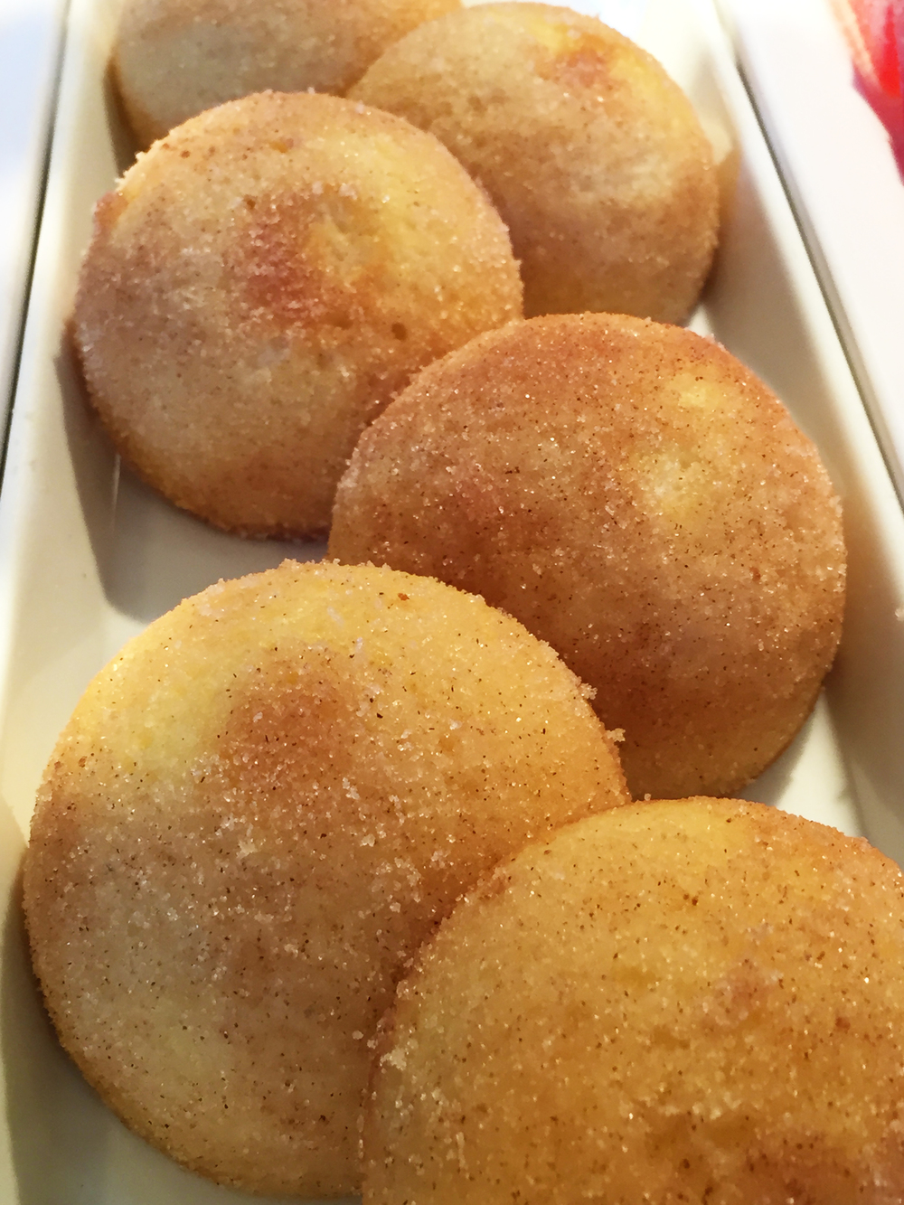 """""""Doodle Cakes"""" (Snickerdoodle-like cakes...so, essentially, heaven!)."""