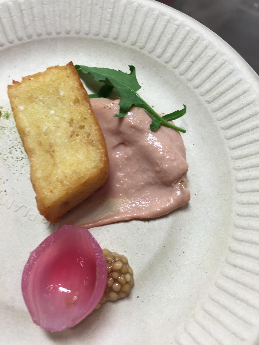 Maude   - pan perdu with foie gras mousse