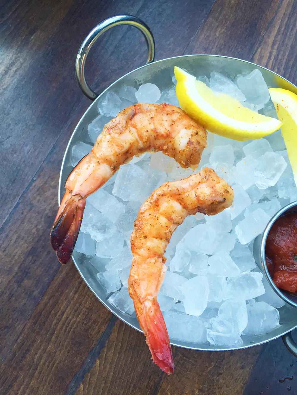 Wild White Mexican Shrimp a la Creole