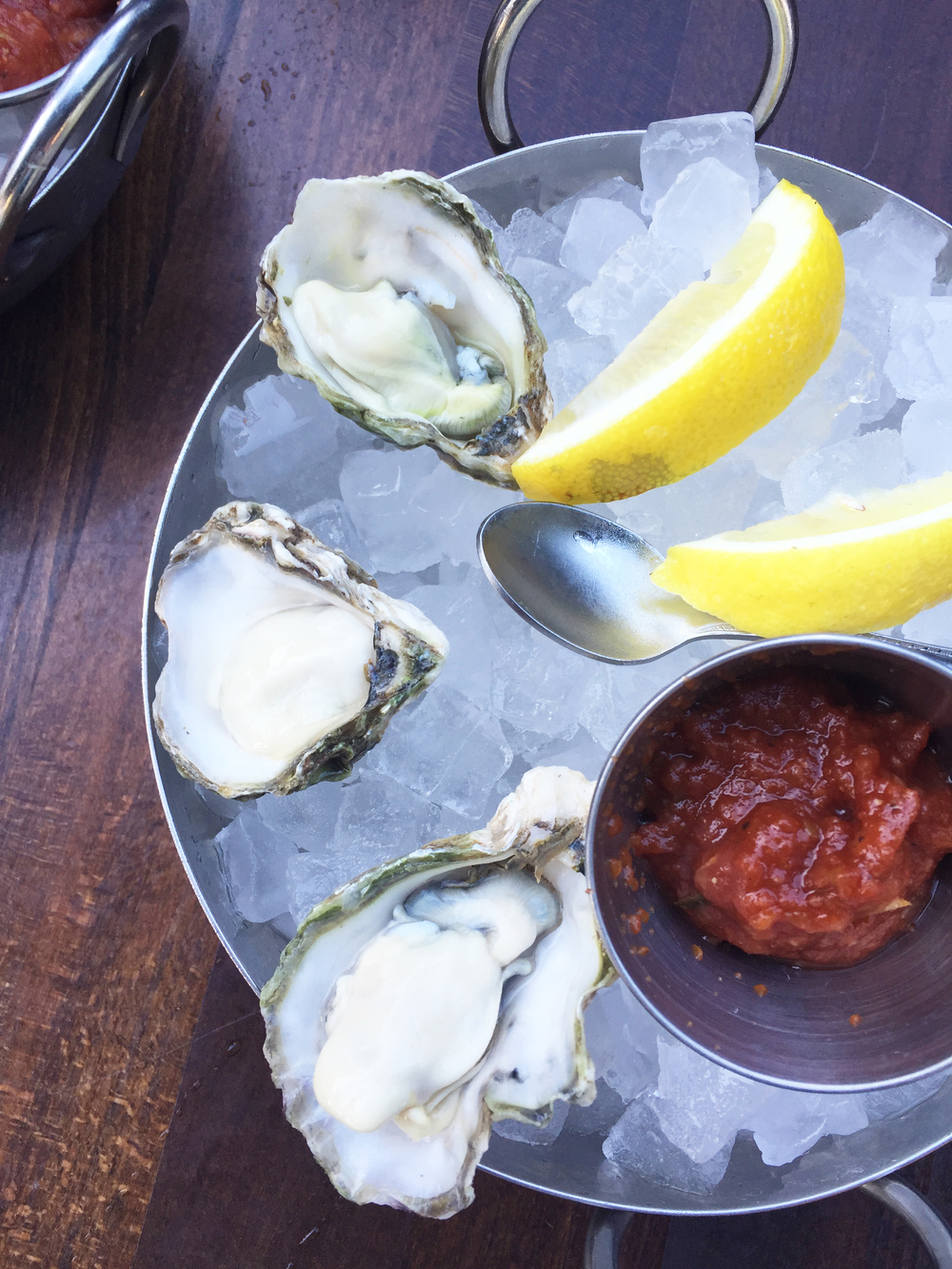Kumamoto   Oysters on the Half Shell