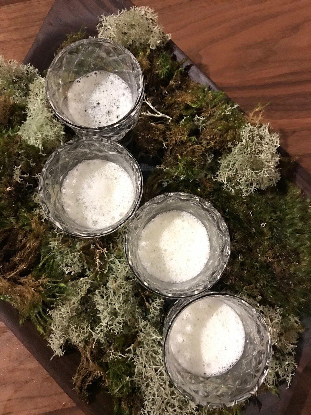 mushroom essence, thyme, forest floor aroma
