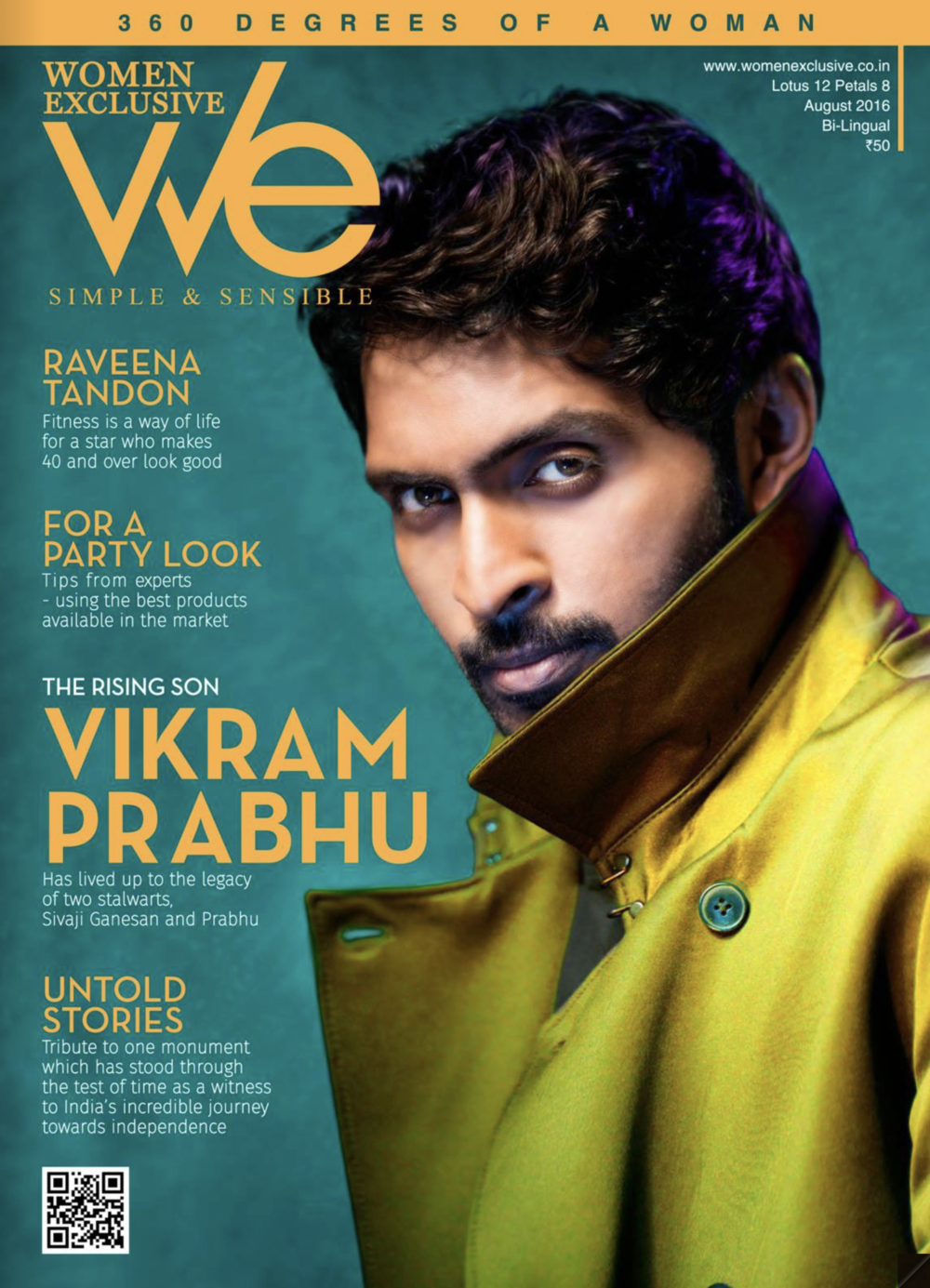 VIKRAM PRABHU | Actor / Producer