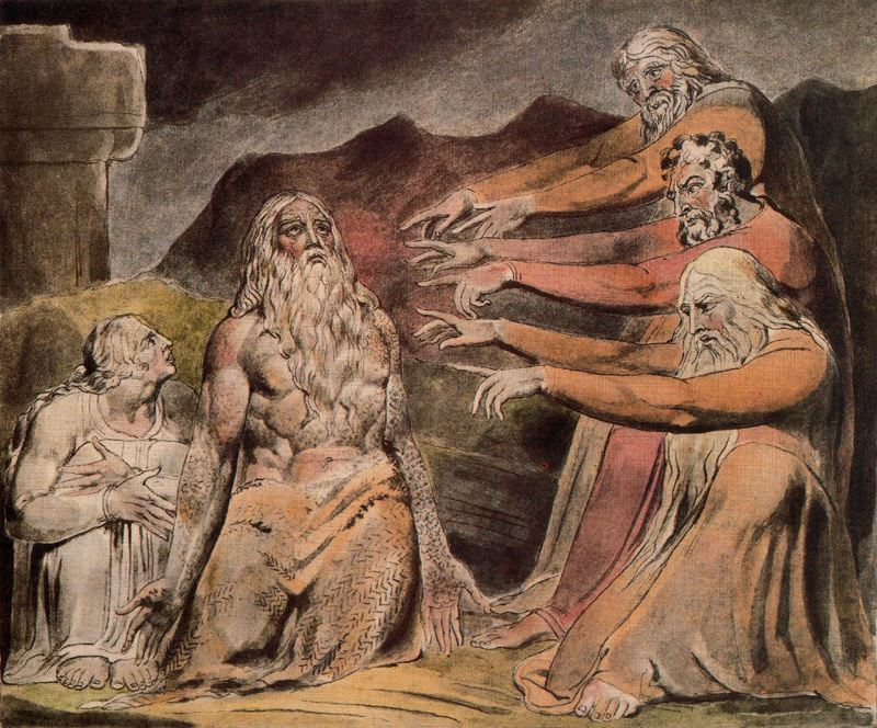 Illustration to Book of Job, William Blake (1780 - 1827)