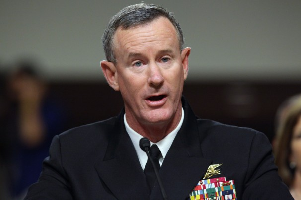 Chip Somodevilla/GETTY IMAGES - Adm. William McRaven, who leads the Tampa-based command, said in a speech that reducing the suicide rate among special operators is his number-one priority.