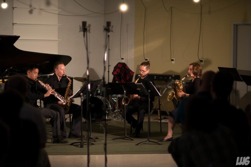 Proteus Quartet, Strata New Music Festival (2015), Saskatoon, Canada