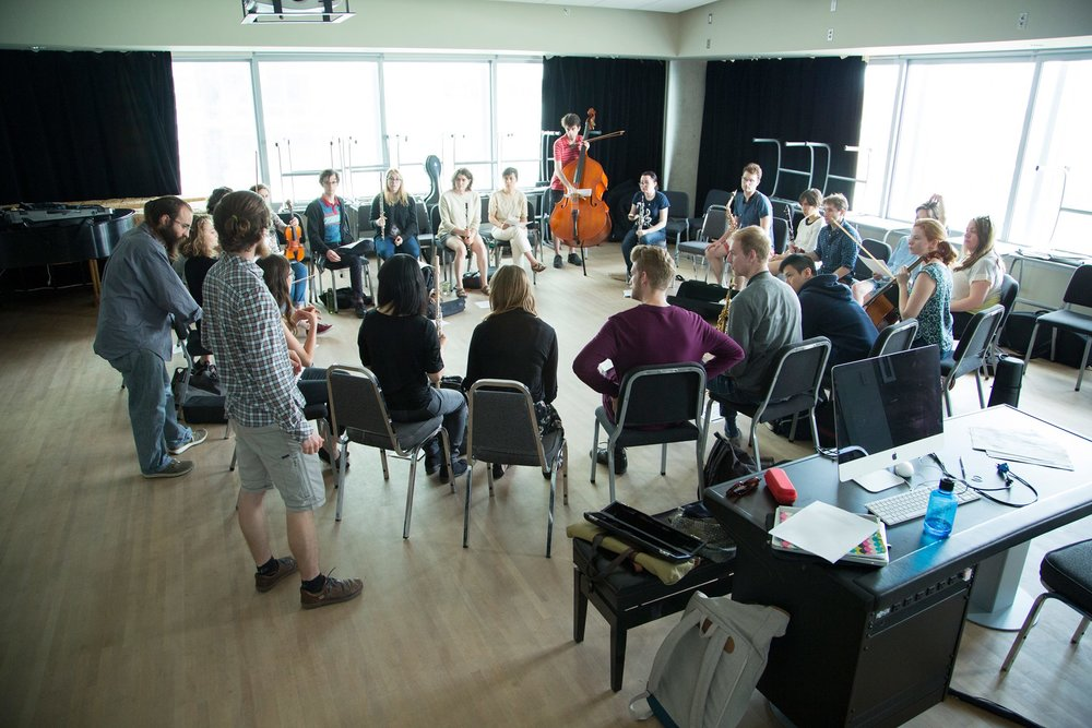 2016 Montreal Contemporary Music Lab Improvisation Workshop