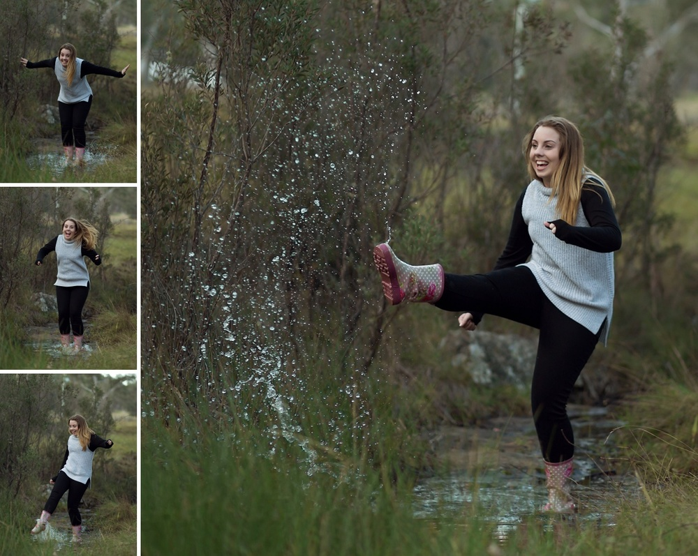 Modern-Fun-Portrait-Splashing-Water