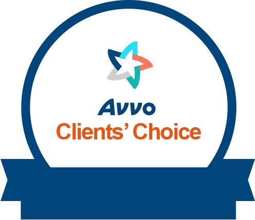 Amberg Harvey Avvo Clients Choice Award