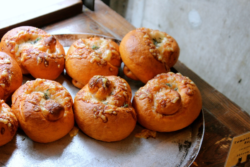 Tomato & Onion Bagels