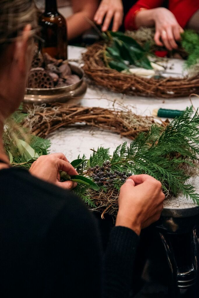 Eldorado Katoi Made Floral Eeberger Wreath Workshop