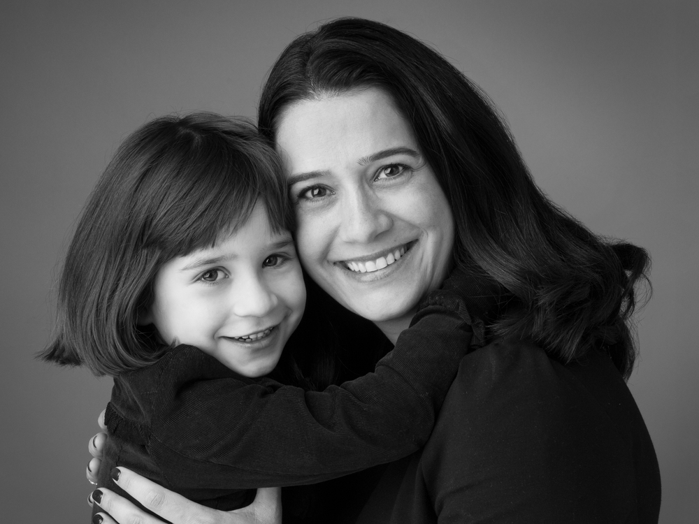 Stunning Family Photography In Black And White Richmond Surrey