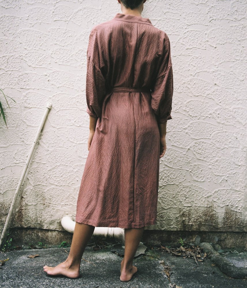 Harry Were Kimono Wrap Dress, Harry Were Photography, 2017
