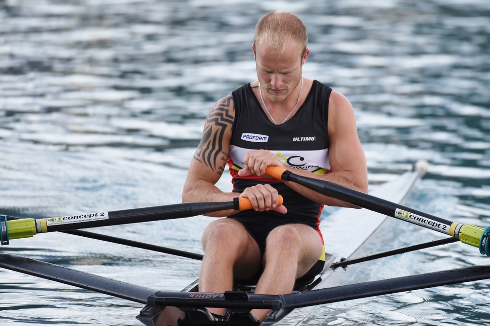 As a high performance rower and a proud member of  Waikato Rowing Club , I also represent  Waikato Regional Performance Center  at all domestic regattas. This is a WRPC rowsuit I wear here in training prior to racing at National Championships.