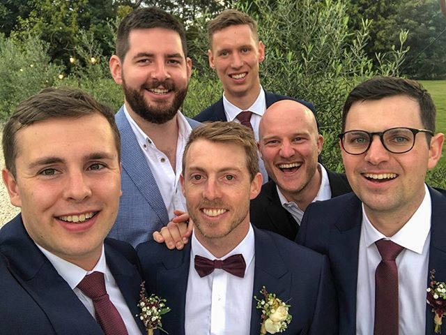He's your responsibility now @ahurn123. No givebacks. Not much beats an occasion that brings all the lads back together. United by rowing, bonded for life out of respect and admiration. #brothers #reunite #ButBehave #ForMostOfTheTime #ToFormallyInviteALassIntoTheGroup #ButPassOnAllResponsibility #ToMaxAndAbby