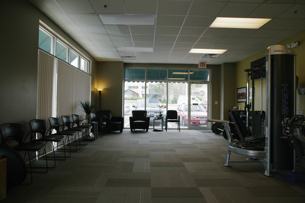 Carr Physical Therapy Interior