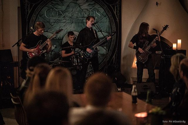 Some photos from our release show a few weeks ago by Pål-André Måseidvåg. Thanks again to everyone who came out to see us!