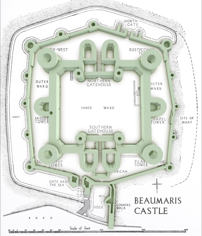 Beaumaris Lost In Castles