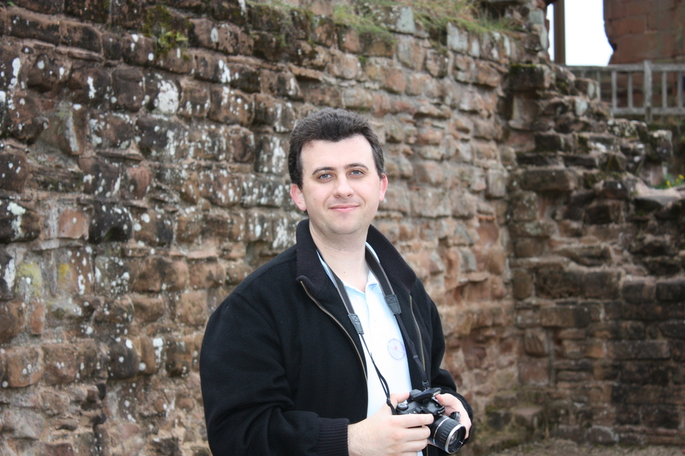 Joe at Kenilworth Castle