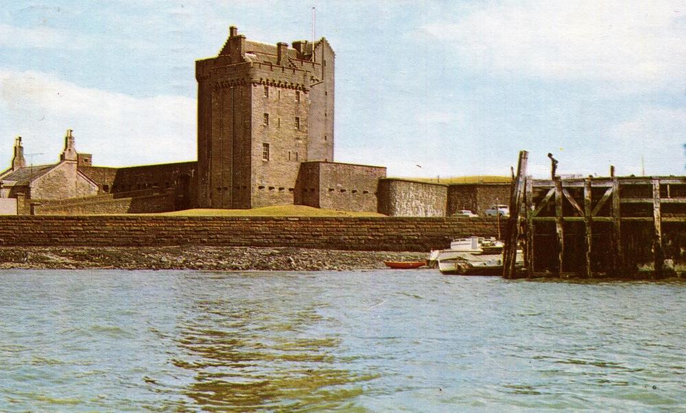 Broughty Castle, Scotland