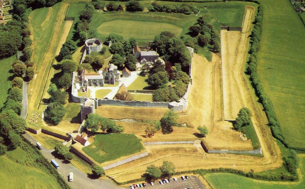 Carisbrooke Castle, England