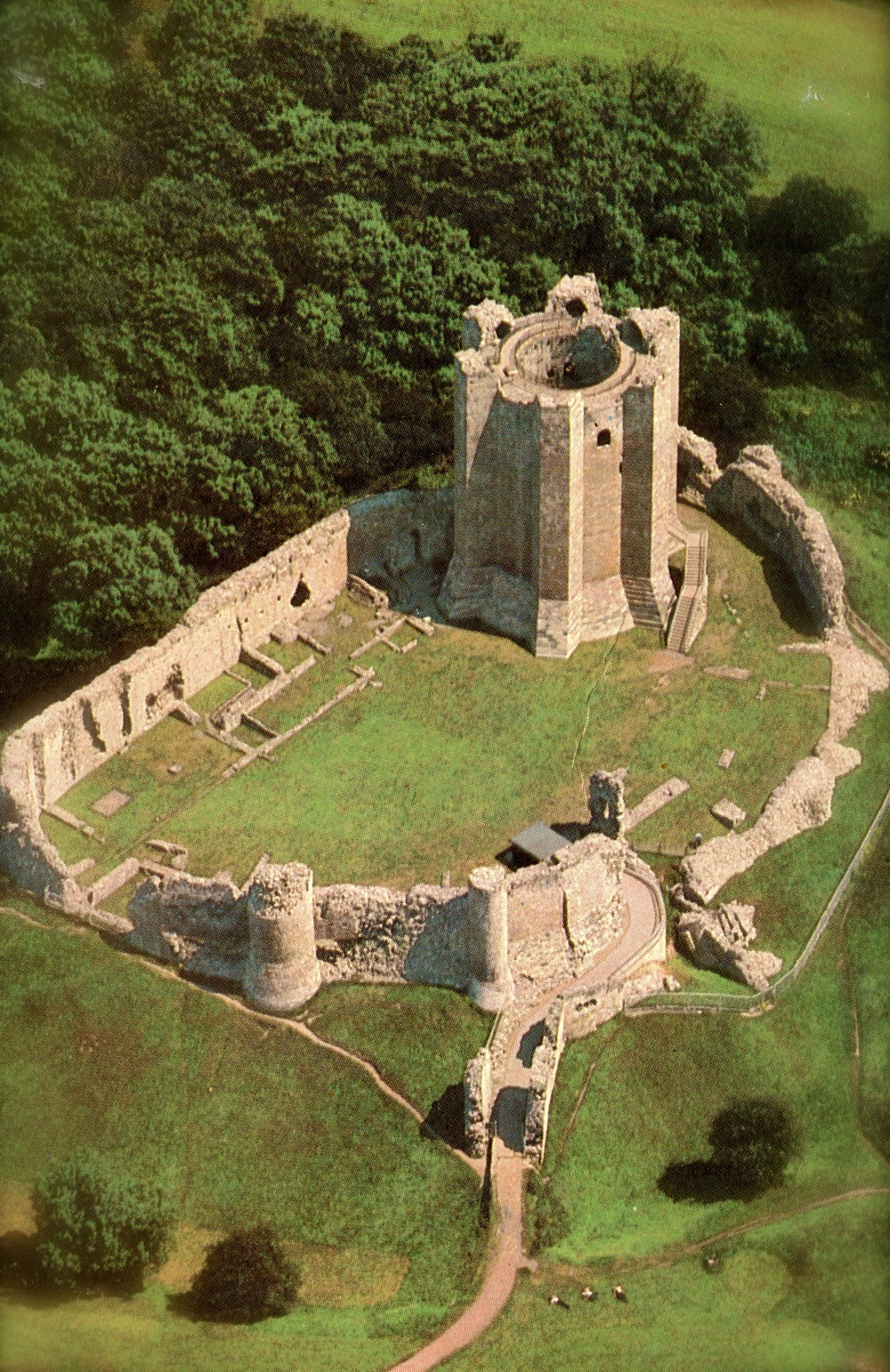 Conisbrough Castle, England