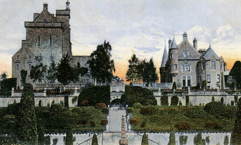 Drummond Castle, Scotland