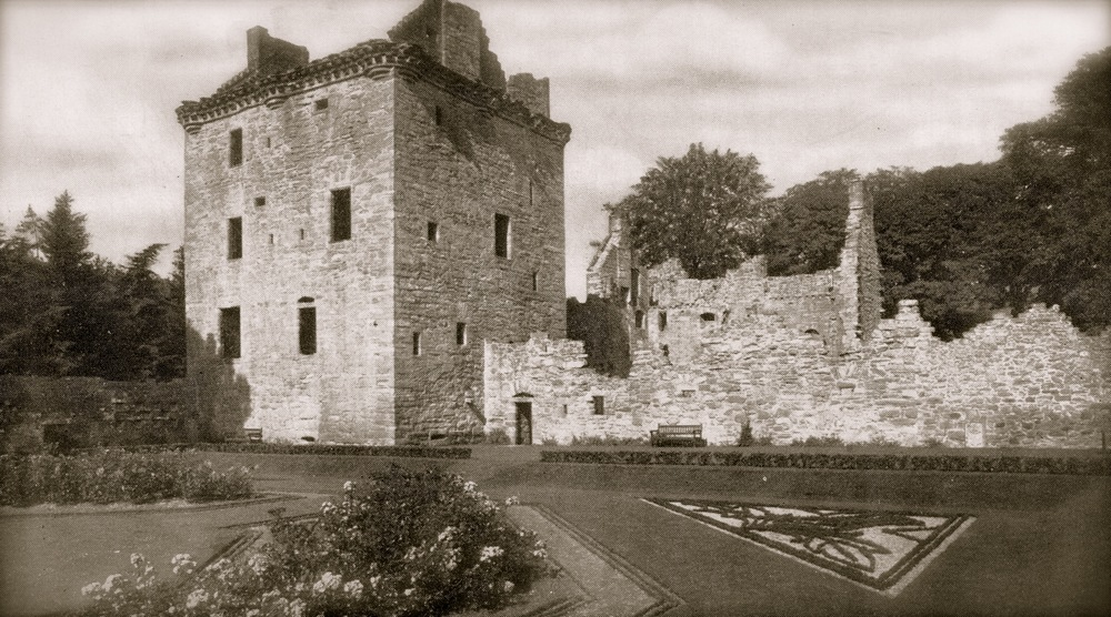 Edzell Castle, Scotland