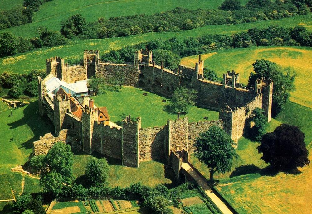 Framlingham Castle, England
