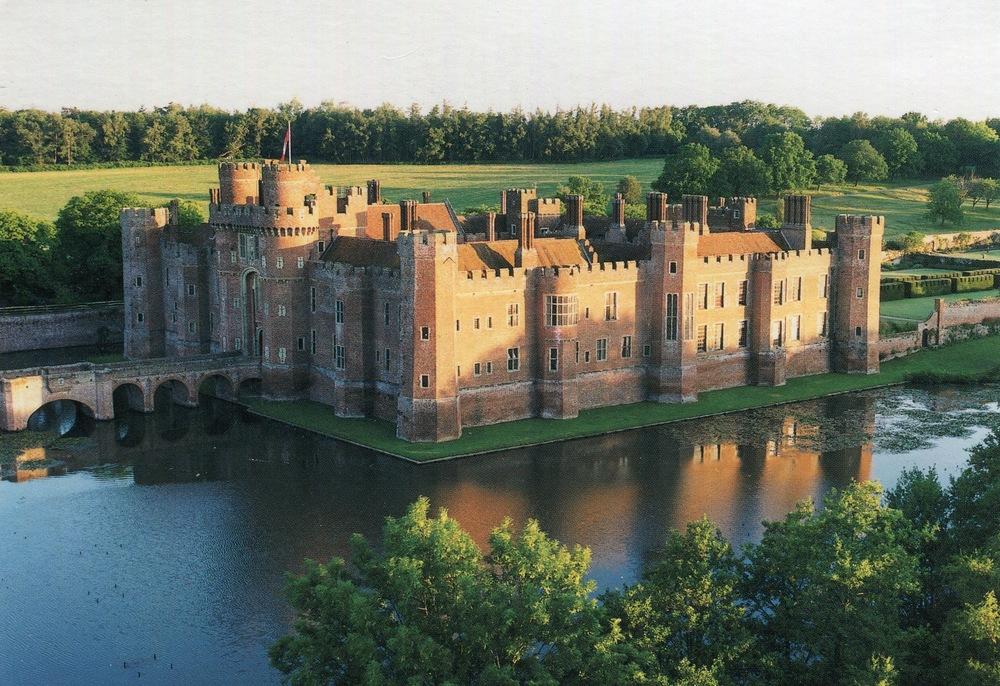 Herstmonceaux Castle, England