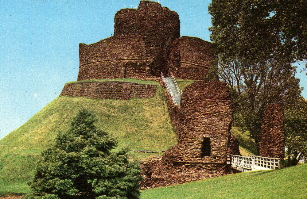 Launceston Castle, England