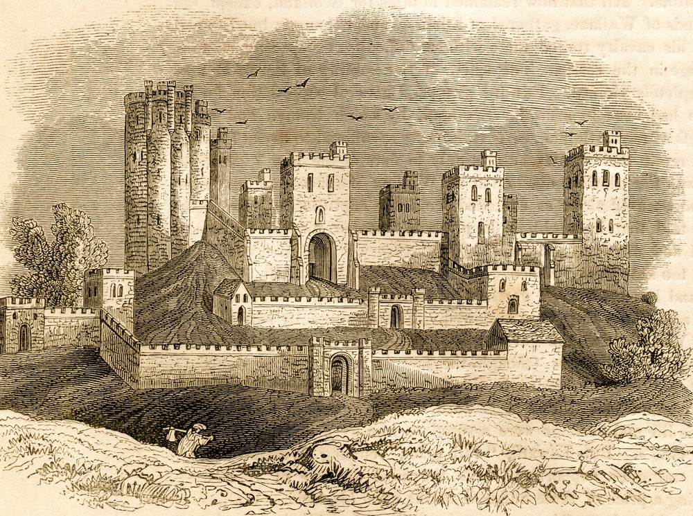 Pontefract Castle, England