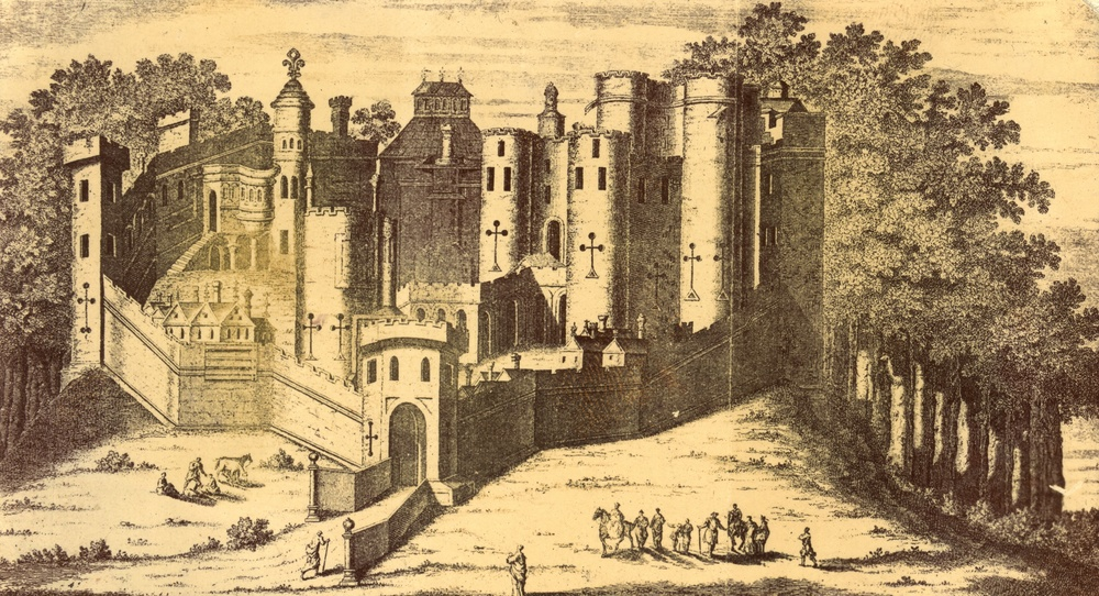 Sandal Castle, England,