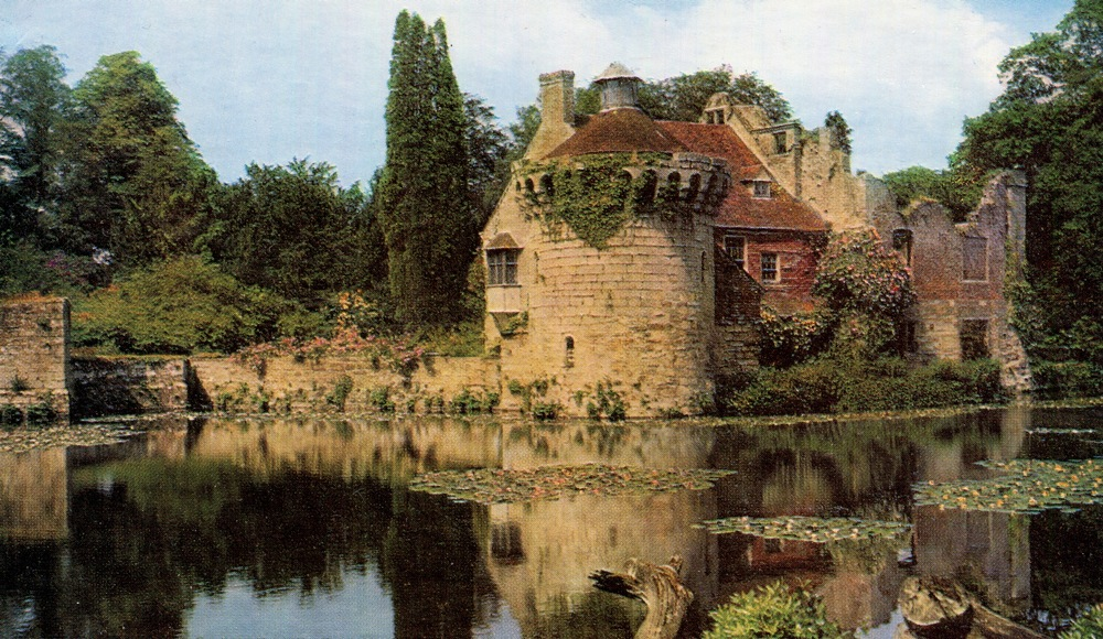 Scotney Old Castle, England