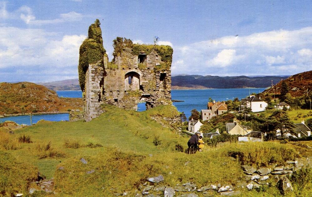 Tabret Castle, Scotland