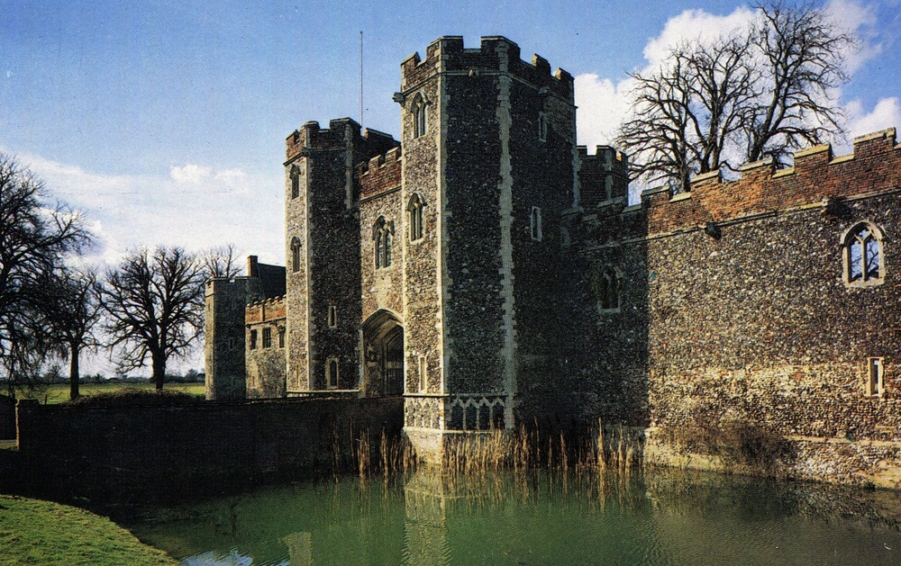 Wingfield Castle, England
