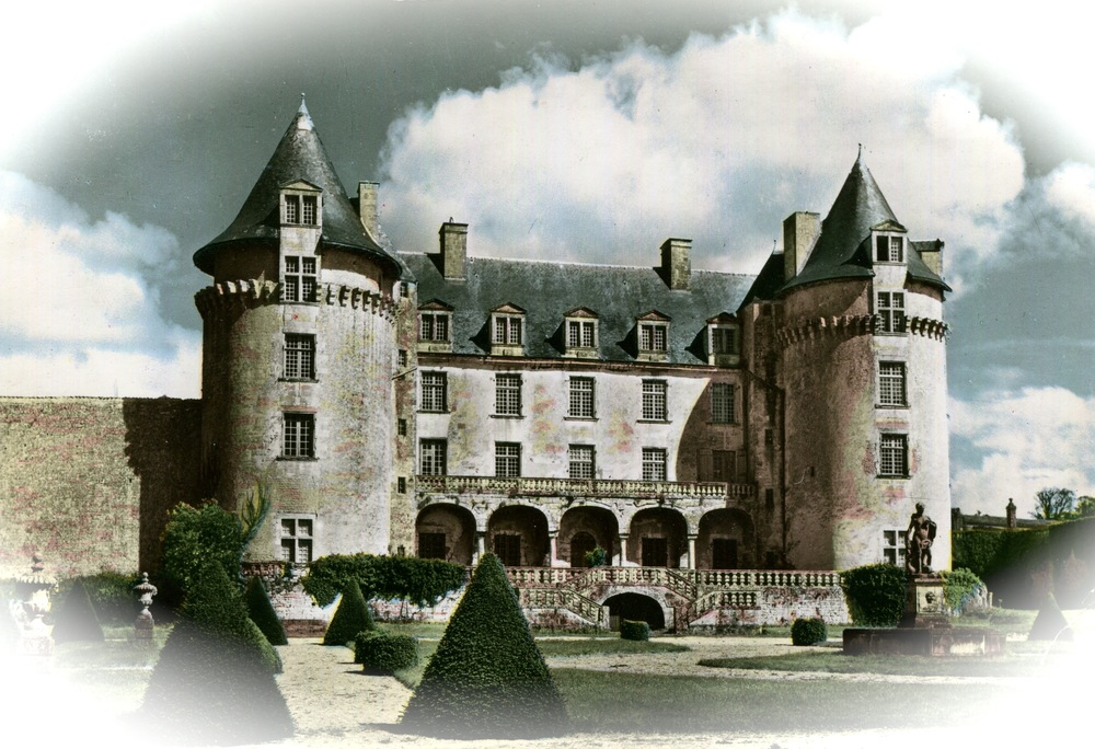 Roche-Guyon Castle, France