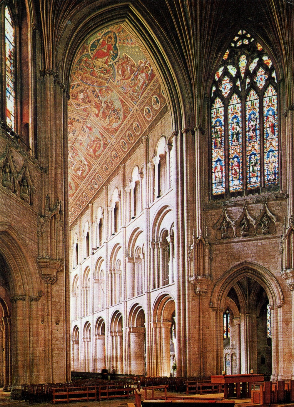 The Nave of Ely Cathedral