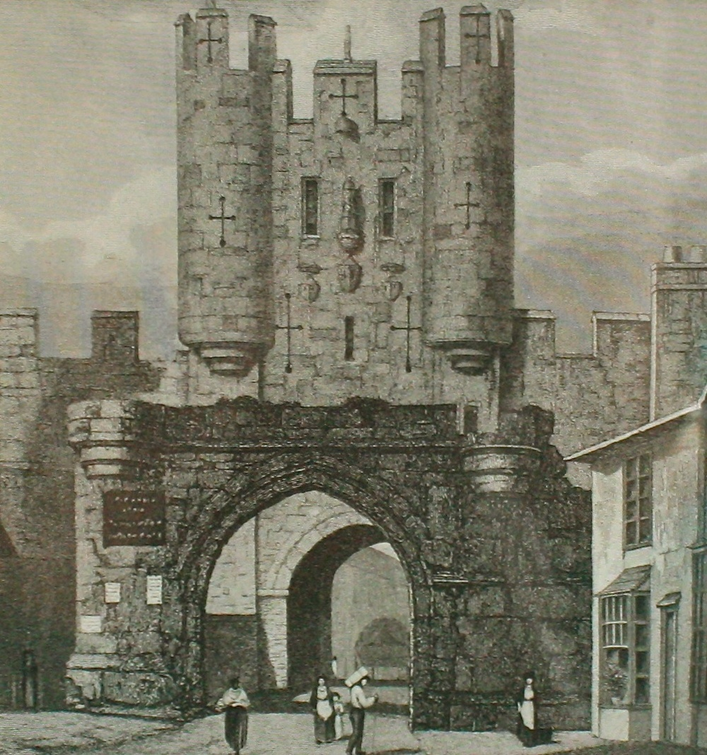 Micklegate Bar, York