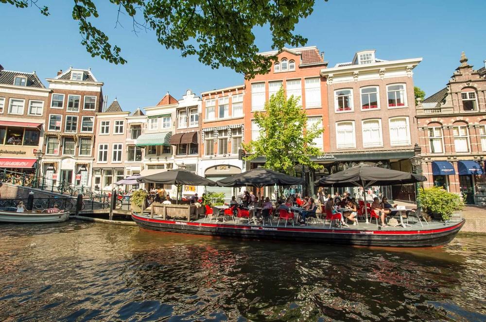 Restaurant Dende Leiden 2014 – Terras