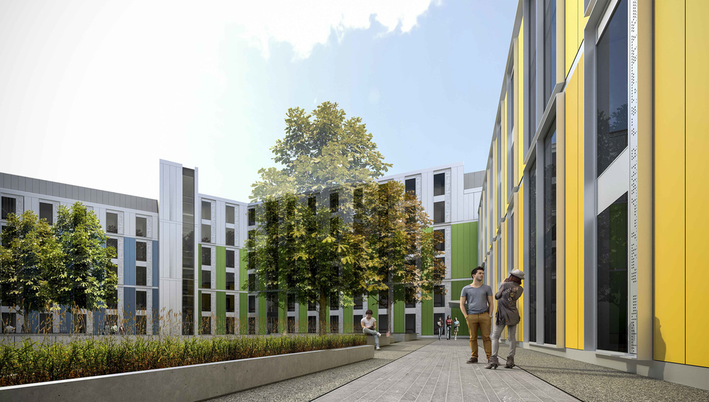 STUDENT RESIDENCES BY MLA, COVENTRY