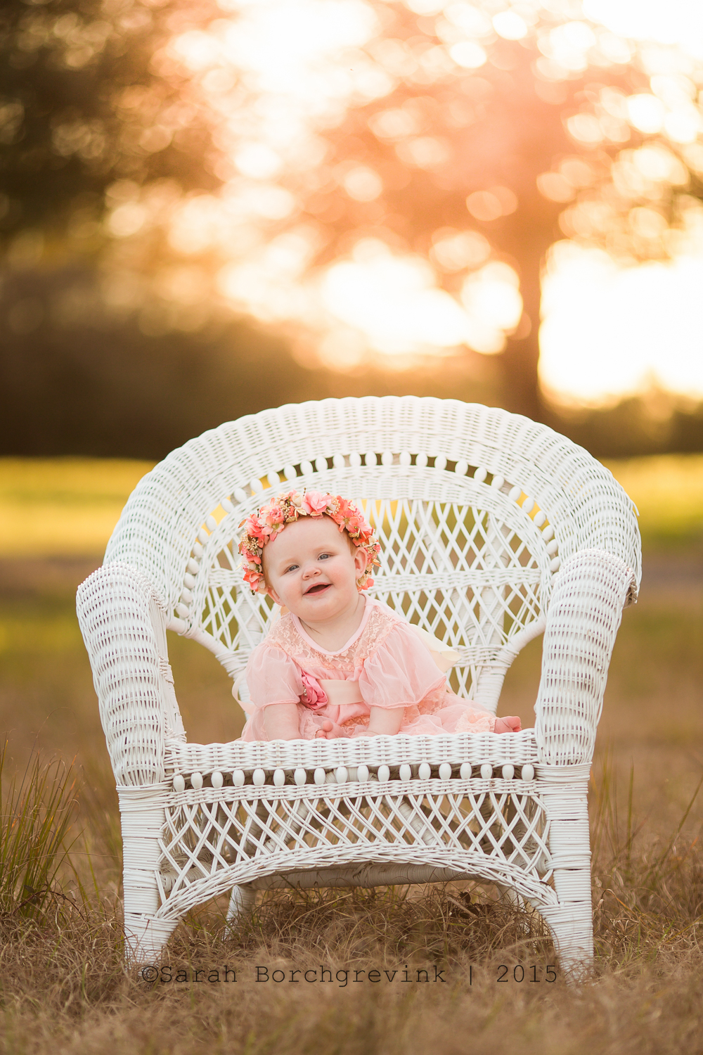 sunset photography for children in cypress, texas