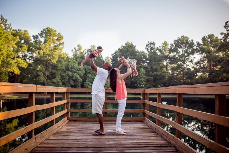 outdoor family session in cypress texas